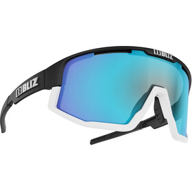 Bliz Fusion M12 Lunettes, matt black/smoke with blue multi